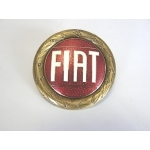 Fiat 124 Spider Hood Emblem with bolt and nut