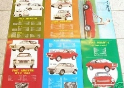 Set Poster ABARTH 6 pieces