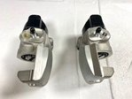 pair of new rear brake calipers Fiat 124 Spider