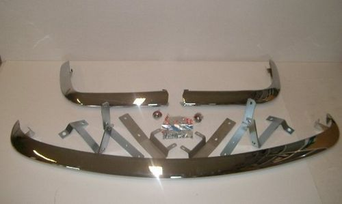 set front and rear bumpers Fiat 124 Spider 1966-74